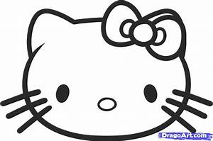 How to Draw Hello Kitty for Kids, Step by Step, Characters ...