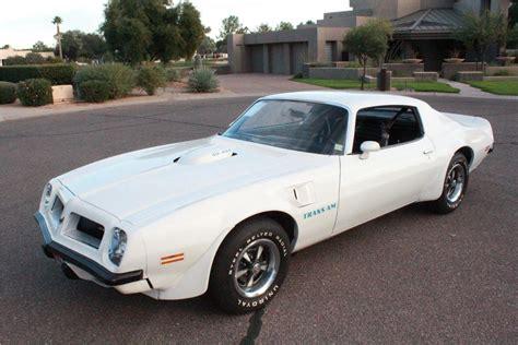 1974 Pontiac Firebird Trans Am Super Duty 455