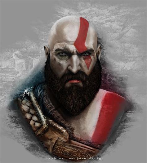 Kratos God Of War 4 By Jover Design On Deviantart
