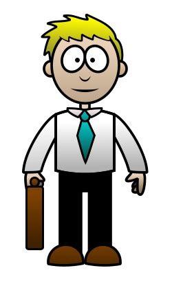 drawing  cartoon lawyer
