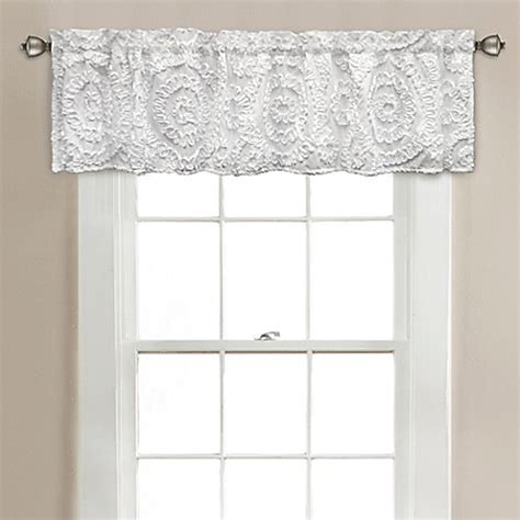 20 Inch Valance Curtains by Lush D 233 Cor Keila 70 Inch X 14 Inch Bath Window Curtain