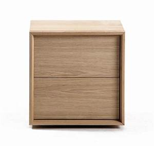Chevet Bois Massif : table de chevet design brin d 39 ouest ~ Teatrodelosmanantiales.com Idées de Décoration