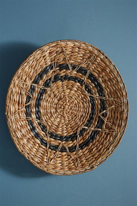 Decorative basket wall art on alibaba.com encompass whole art collections and complementary pieces to existing work bodies. Antigua Hanging Basket by Anthropologie in White, Wall Decor   Home decor baskets, Hanging ...