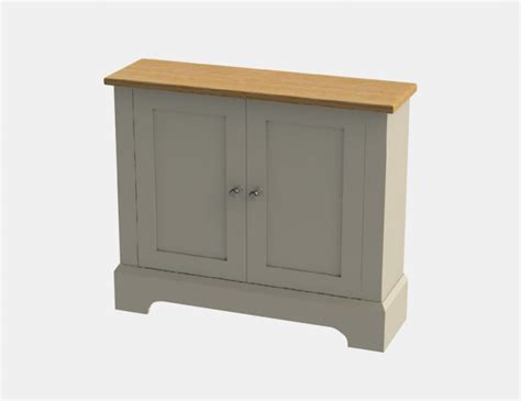 Country French Living Room Pictures by Chatsworth Cabinets Pilsley Slimline Cupboard