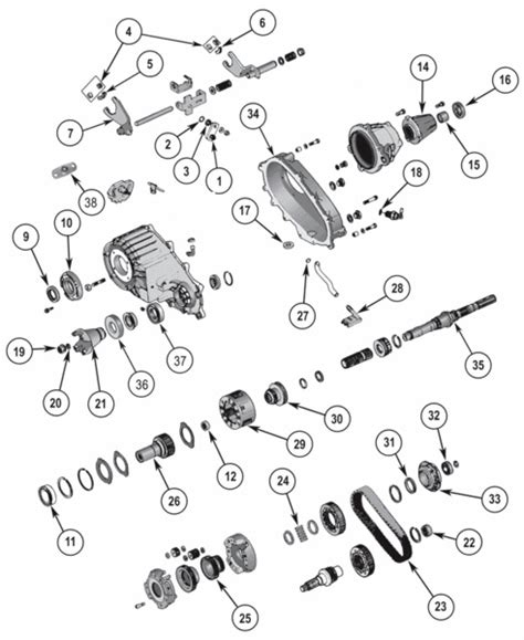 Jeep Exploded Diagram by 7 Best Images About Jeep Transfer Parts On
