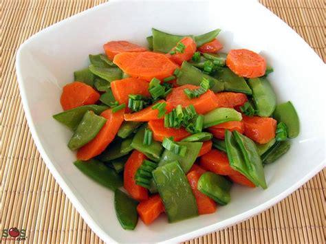 cuisiner des pois mange tout carottes et pois mange tout au beurre