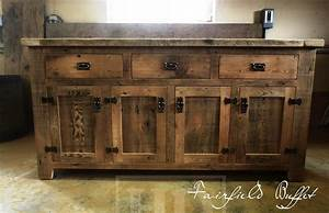 Reclaimed Wood Buffet Console Cabinet London Ontario (7