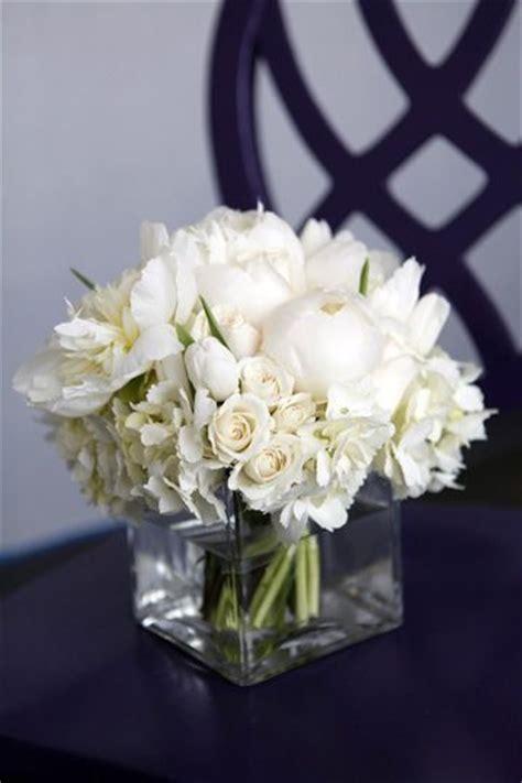 square glass vase  white flower arrangements flower