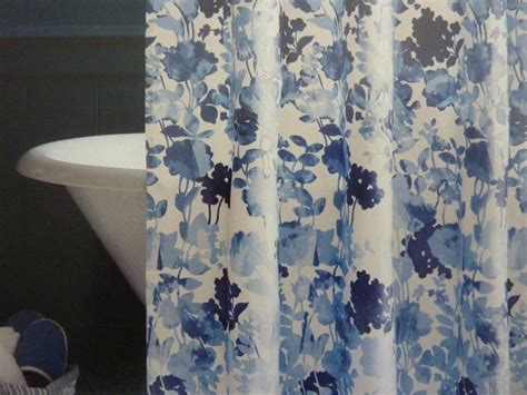 Diy Custom Blue Fabric Shower Curtains Little Girls Bedroom Curtains Bargain Online For Rooms Ladybug Kitchen Curtain Rod Pictures Hidden Tab Top Gray Nursery French And Window Treatments