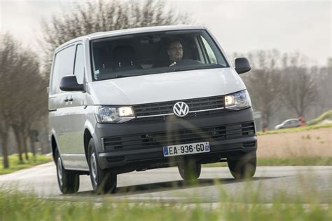 essai volkswagen transporter  tdi   vehicule