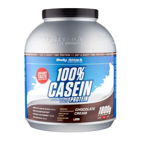 Body Attack Casein  Chocolate 1800 g bei nu3 bestellen