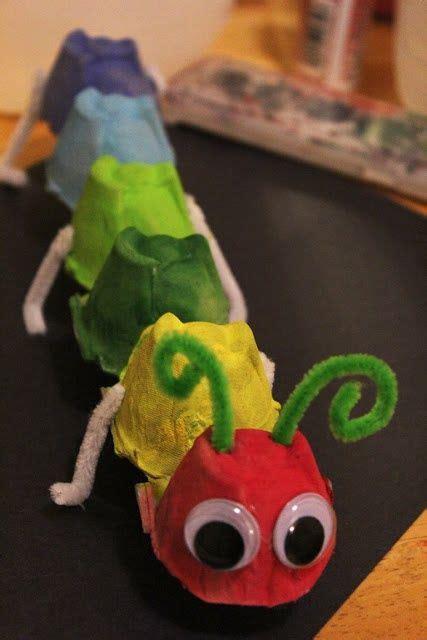 egg carton caterpillar  remember making