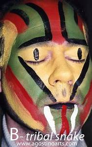 Three Work Related Skills Tribal Facepainting Concept The Story Behind The Faces