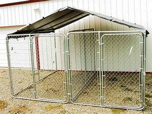10x10 dog kennel roof in cheapest of all option With low cost dog kennels