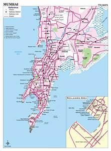 Map of Mumbai - Free Printable Maps