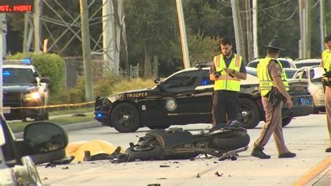 Fatal Motorcycle Accident Orlando Yesterday