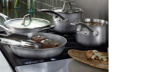 calphalon cookware bakeware stainless steel kitchenware cutlery sauce saute anchor