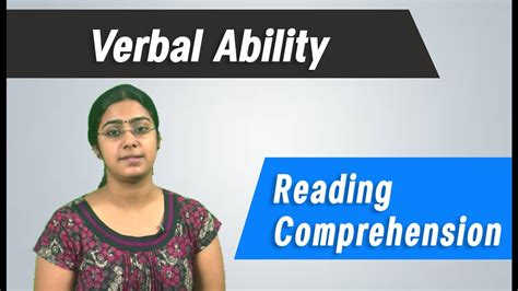 Best Gre, Gmat, Cat ,ibps, Competitive Exams Tips  Verbal Ability  Reading Comprehension Youtube