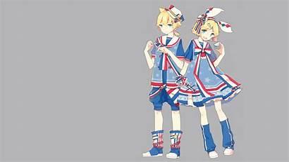 Rin Kagamine Vocaloid Len Desktop Wallpapers Miku