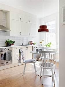 Cocinas pequeñas modernas - los 25 diseños más funcionales