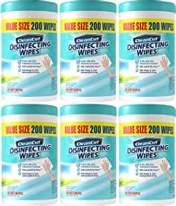 Amazon.com: Disinfecting Wipes By Clean Cut, Fresh Scent