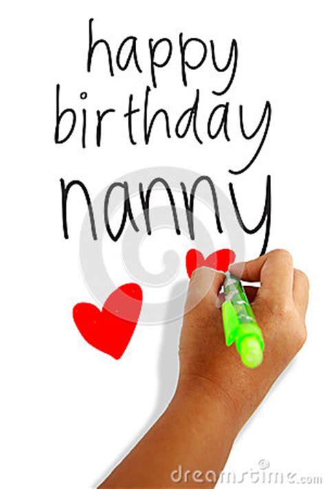 happy birthday nanny royalty  stock images image