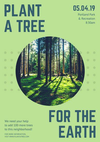 Environmental Protection Plan Template Customize 95 Environmental Protection Poster Templates