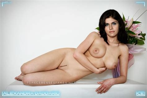 Beautiful Alexandra Daddario Naked Body Show Fake