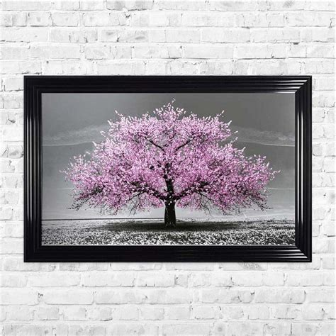 Are you looking for parmesan cherry images design for wall decor? PINK CHERRY TREE FRAMED WALL ART BY SHH INTERIORS - 114CM X 74CM   1Wall