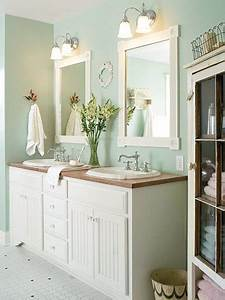 double vanity design ideas With kitchen colors with white cabinets with metal wall art with mirrors