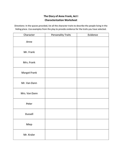 14 best images of frank vocabulary worksheet