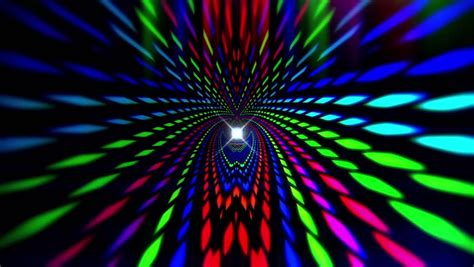 Animated Rainbow Wallpaper - neon psychedelic rainbow lights 1080p after effects