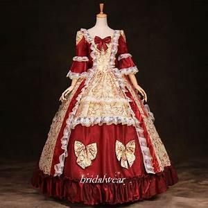Medieval Renaissance gown queen princess dresses Marie ...