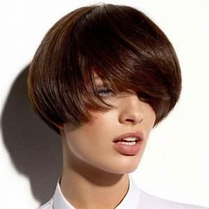 Couleur De Cheveux Chocolat Marron Glacé : coupe courte marron glac ~ Melissatoandfro.com Idées de Décoration