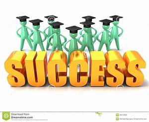 Graduation Success stock illustration. Illustration of ...
