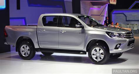 toyota thailand gallery 2016 toyota hilux thai launch live photos image