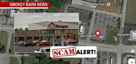 clever kroger gas station scam nets cash  white house