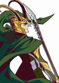 Loki Avengers Anime
