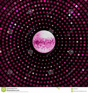 Disco Ball Background Stock Vector - Image: 45203832