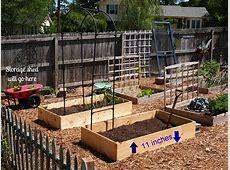 Charming Design Raised Vegetable Garden Plans Beds