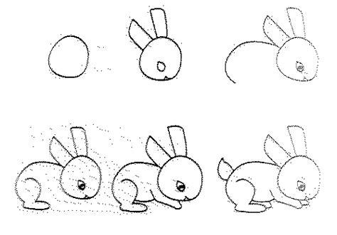 draw easy animal figures  simple steps