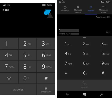 comparatif windows phone 8 et windows 10 mobile