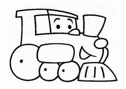 Train Coloring Preschool Kindergarten Pages Preschoolcrafts