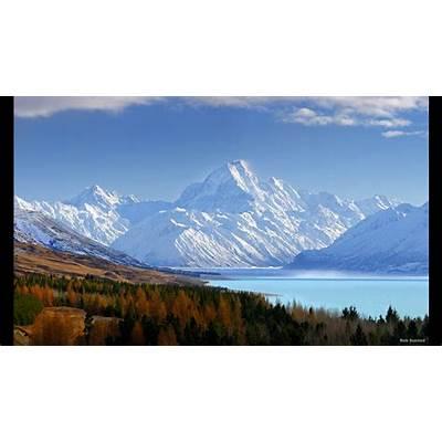 'The Hobbit' location: Lake-town - Lake Pukaki Mt Cook
