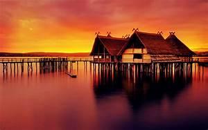 Beautiful Beach Sunset Desktop Wallpaper