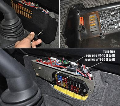 05 Range Rover Fuse Box Location by Nas Defender 110 Center Dash And Engine Compartment