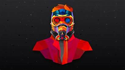 Colorful Star Lord Abstract Wallpapers Marvel 4k
