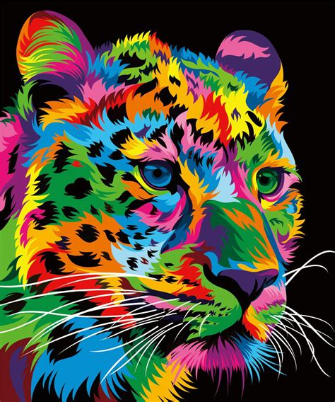 colorful animal vector illustration  behance vector