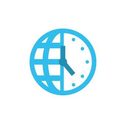 Zone Zones Scheduler Icon Meeting Timezone Icons