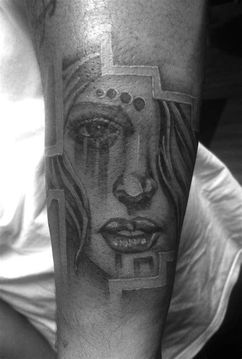 Aztec Girl Tattoos